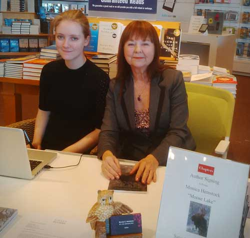 Book launch at Chapters January 31, 2015